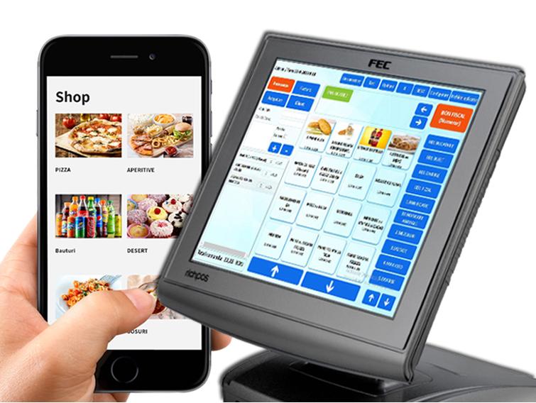 Pachet software pentru comenzi online - SmartShop - Afaceri la distanță în 6 pași: POS + Site + Mobil + Comenzi + Livrare + Încasare.