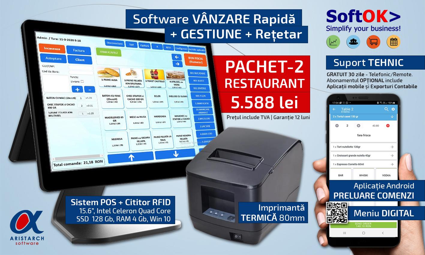 Pachet Complet SoftOK 2021 - POS 2